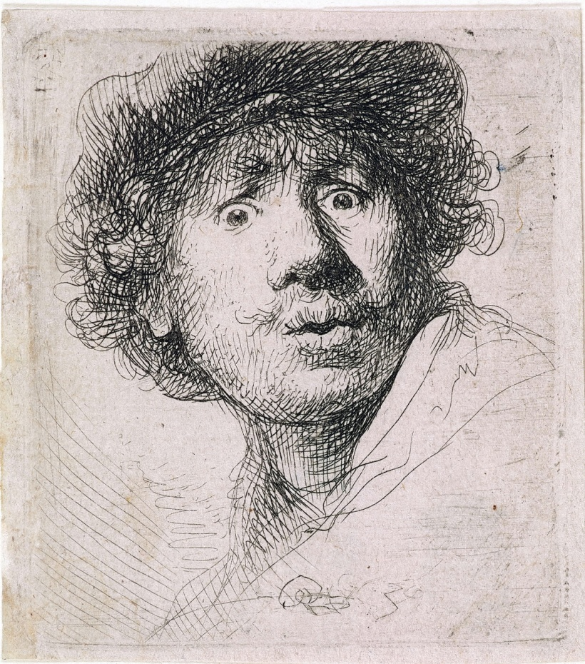 Self-Portrait-in-a-Cap-Open-Mouthed-1630-1