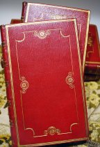 十九世紀初的帝政風格書籍裝幀