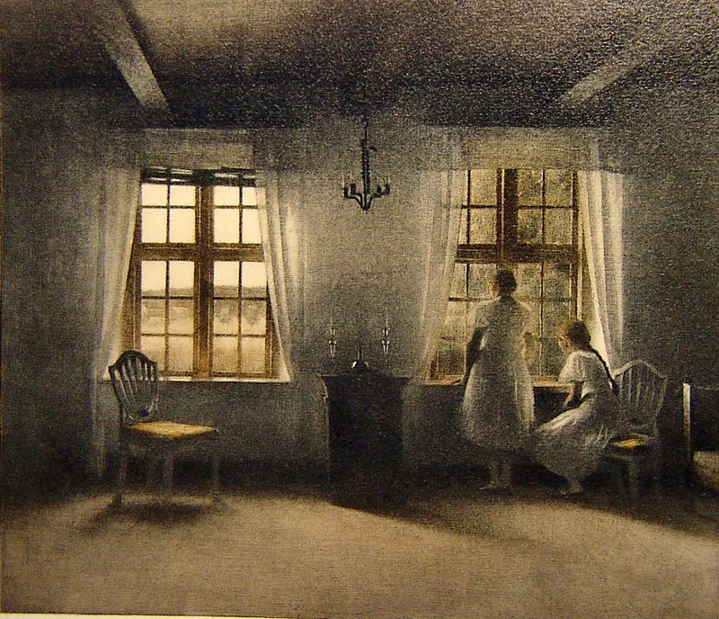 peter-vilhelm-ilsted-danish-artist-1861-1933-girls-at-window